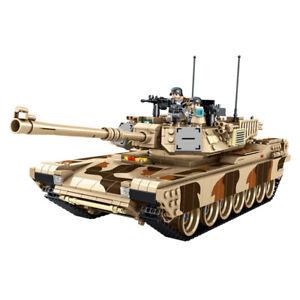 Panlos 632010 USA M1A2 Abrams Main Battle Tank Building Block Set 1630pcs