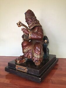 Frank Meisler KING DAVID Sculpture - Wonderful and Very Rare!