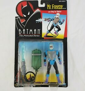 *NEW IN BOX* SEALED Vintage Mr. Freeze, Batman Animated Series, Kenner 1992