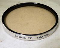 Lens Filter Series VII (7) Spiratone Spiralite warming 81A drop in type