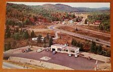 Roadside Postcard Houston's Imperial Esso Hwy 17 Ontario Canada 1963