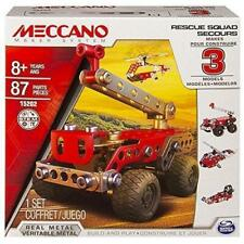 New Meccano 3 Model Set Rescue Force