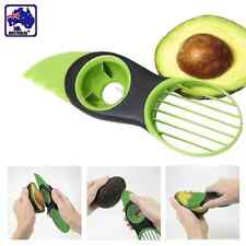 3-in-1 Avocado Slicer Plastic Splits Slices Sharp Blade Fruit Pitter HKCU37603