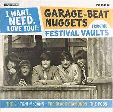 Garage Beat Nuggets CD - Toni McCann, Black Diamonds 60s Aussie Festival Records