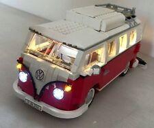 USB Lumière DEL Kit Pour Lego VW Volkswagen T1 Camper Van 10220 * Man Cave *