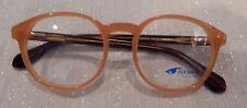 ECS Optical Nirvana Summer 49/19 P3 Round Keyhole Bridge Eyeglass Frame NOS