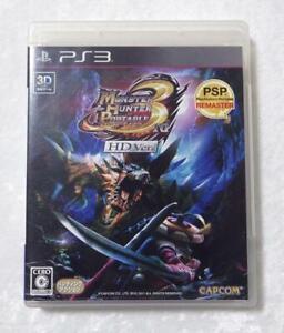 PS3 Monster Hunter Portable 3rd HD Ver 39451 Japanese ver from Japan
