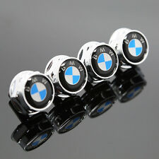 4PCS Car License Plate Frame Screw Bolts Cap Cover For BMW All Model