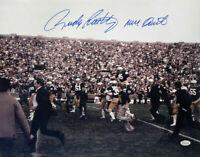 Rudy Ruettiger Signed 16x20 Notre Dame Photo Never Quit JSA ITP