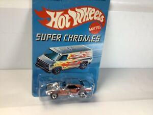 Hot Wheels Redline 1976 Super Chrome Heavy Chevy BP EXCELLENT RED TAMPO&CHROME