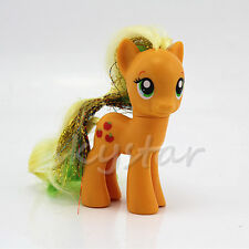Hasbro My Little Pony Friendship Princess Applejack 8cm Loose Action Figure Toys