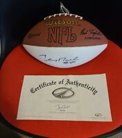 Jerry Rice Autographed Official Football w/ COA (from Oldsmobile company event)