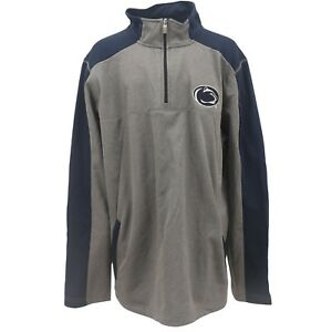 Penn State Nittany Lions Official NCAA Adult Size Quarter Zip Warm Up Pull Over