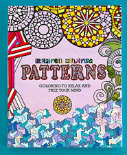 Inspired Coloring Book For Adults Patterns Design Relax and Free Your Mind