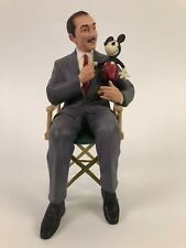 Walt Disney and Mickey Mouse It Was All Started By A Mouse WDCC Figurine