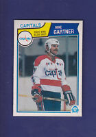 Mike Gartner HOF 1983-84 O-PEE-CHEE OPC Hockey #369 (NM+) Washington Capitals