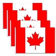 4 PCS 3'x5' Ft National Canada Canadian Maple Leaf Flag Polyester Grommets