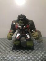 New Custom Minifigure Marvel Avengers End Game Superhero The Hulk