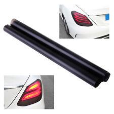 Car Headlight Tail Light Decor DIY Scrub Matte Black Tint Vinyl Film Cover Decal