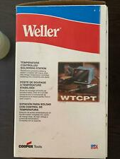WELLER   WTCPT - TEMPERATURE CONTROLLED SOLDERING STATION