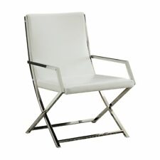 Fantastic Acme Faux Leather Accent Chairs For Sale Ebay Theyellowbook Wood Chair Design Ideas Theyellowbookinfo
