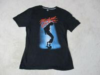 Old Navy Michael Jackson Concert Shirt Adult Medium Black Band Tour Pop Mens