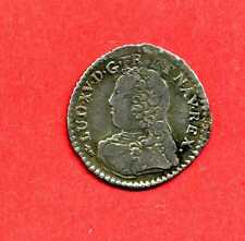(ROY 23)  LOUIS XV VINGTIÈME D'ÉCU AUX LAURIERS 1728 BESANÇON (R3) TTB