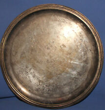 1969 German silver plated platter tray