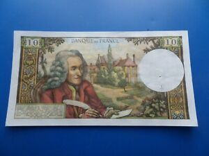 10 Francs Voltaire , Billets France , 10 Francs Voltaire 1970