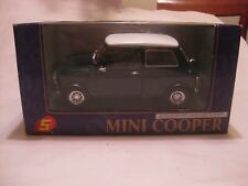 Mini Cooper In A Green 116 Scale Diecast From Superior 1994  New In Box    dc328