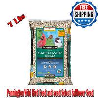 Pennington Wild Bird Feed & Seed Select Safflower Seed 7 Lb, Vitamins & Minerals