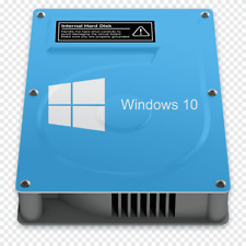 "Laptop Hard Drive 2.5"" SATA HDD with Windows 7/8/10 Pro / Office PreInstalled"