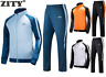 US Men's Tracksuit Set Jumpsuit Joggers Jackets&Pants Sweatsuit Activewear