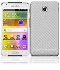 Skinomi Carbon Fiber Silver Cover+Screen Protector for Samsung Galaxy Player 4.2