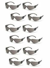 Pyramex Intruder S4120S SMOKE/GRAY Safety Glasses Work Eyewear - 12 Pair/1Dozen