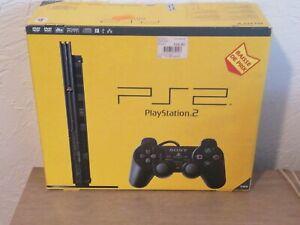 Sony PlayStation 2 Console - Noire Neuve Scellé scph-75004 cb