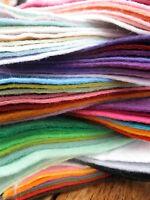 30% Wool Blend FELT 50cm x 180cm - Wide 1/2 Metre Choose the colour FREE UK P&P