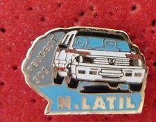 PIN'S VOITURE RALLYE 309 GTI N. LATIL