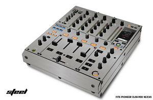 Skin Decal Wrap for PIONEER DJM-900 DJ Mixer CD Pro Audio DJM900 Parts - STEEL