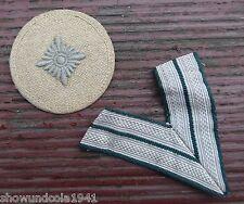 Original Wehrmacht Gefreitenstern mit Gefreitenwinkel