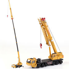 1:55 Scale Diecast Truck Mounted Mega Lifter Crane Construction Vehicle Model