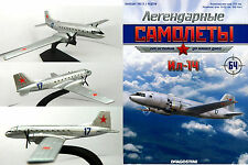 Soviet Russian IL 14 (NATO reporting name Crate)  transport aircraft + Magazine