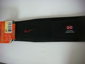 VINTAGE NIKE WEIGHT LIFTING BELT SIZE S NEW