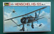 Revell / ESCI 1:48 Henschel Hs-123 A-1. Kit Nr. H-2231