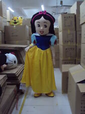 Hot Mascot Costume Princess Snow White and Seven Dwarfs Suit Cartoon Party Dress