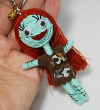 SALLY JACK SKELLINGTON KEYCHAIN VOODOO STRING DOLL NIGHTMARE KEYRING HANDMADE