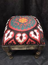 Vintage Suzanni Walnut Footstool