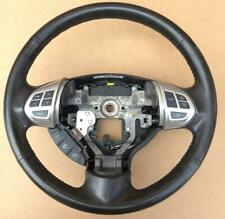 Mitsubishi OUTLANDER 2009-2012 ZH Black Leather Steering Wheel