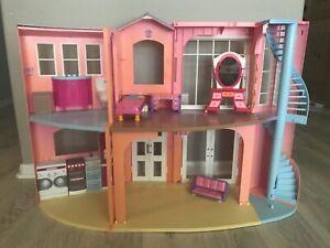 Mattel Barbie 2-Story Dream House Playset 2006 Vintage Foldable!