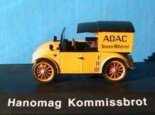 HANOMAG KOMMISSBROT ADAC SCHUCO 02971 1/43 DIE CAST NEW YELLOW GELB JAUNE